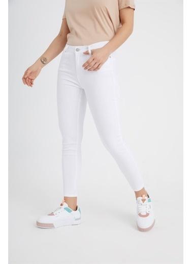 Z Giyim Pantolon Beyaz